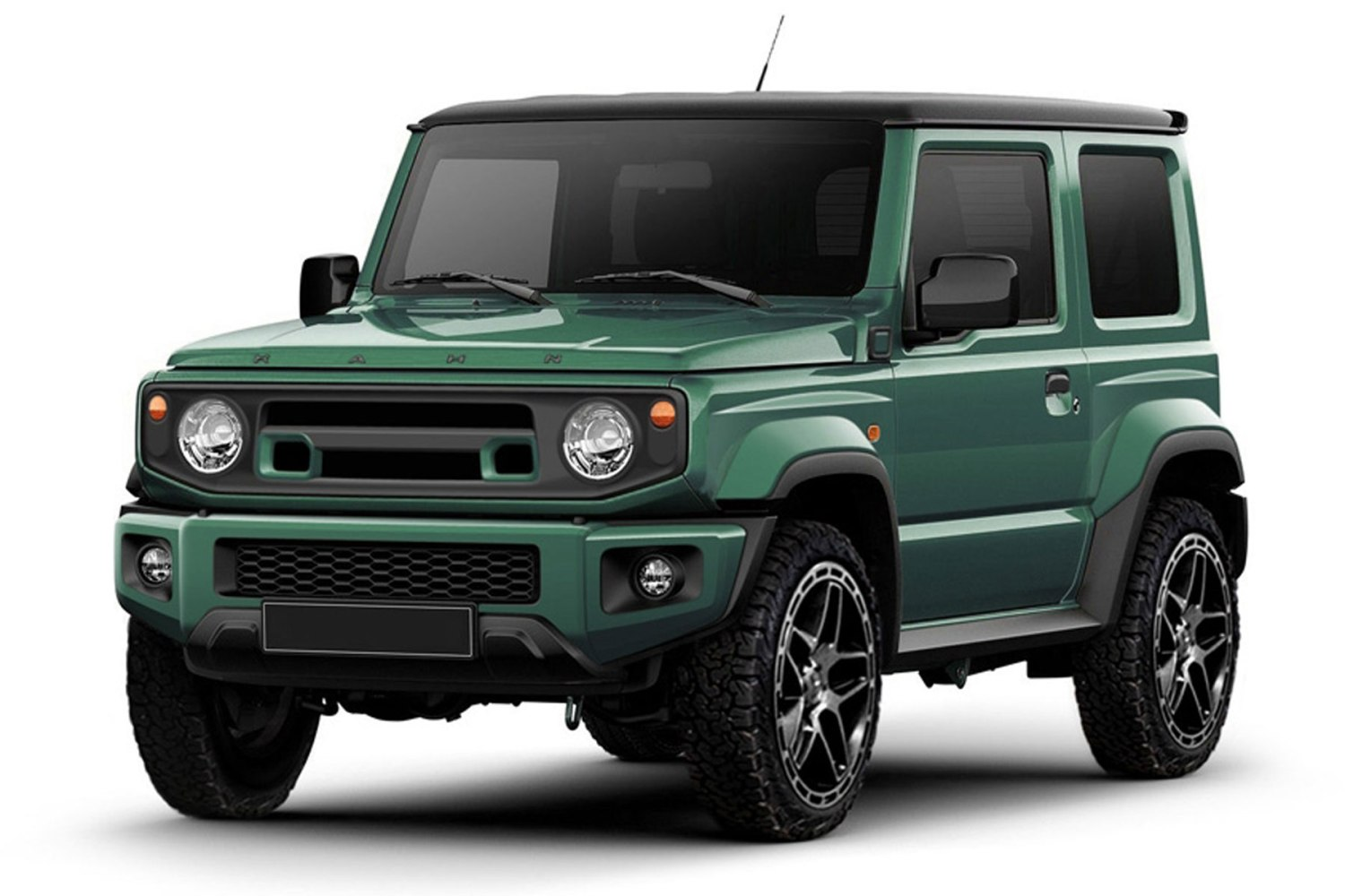 2019 Suzuki Jimny: News, Design, Release >> Kahn Builds A Custom Suzuki Jimny For The King S Road