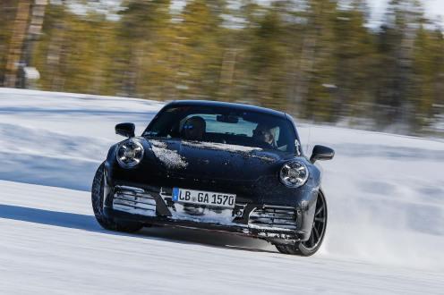 2019 Porsche 992 911 teaser