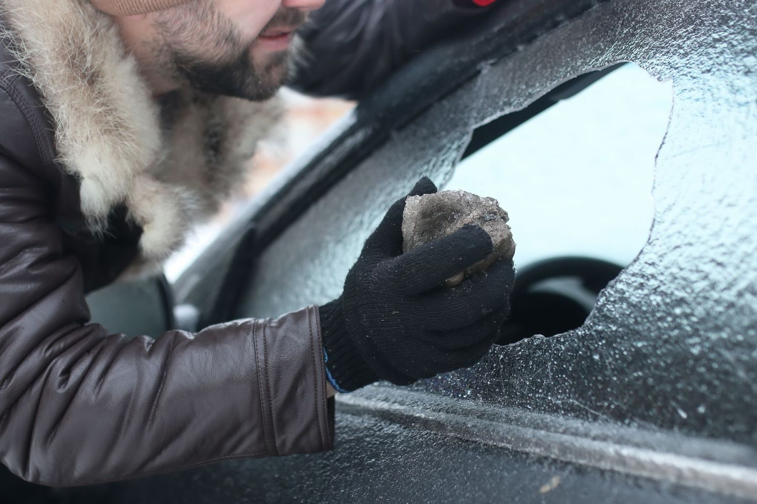Car theft winter