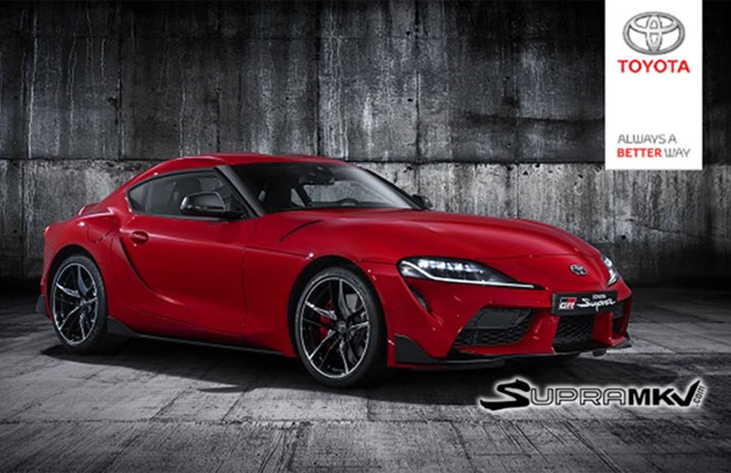 2019 Toyota A90 Supra Leaked Images Reveal