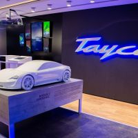 Porsche is holding a Taycan Christmas countdown in London