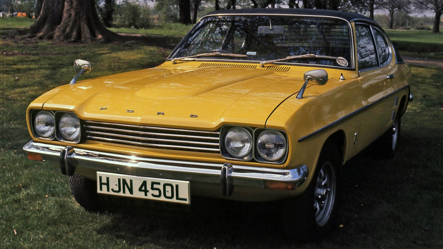 The Ford Capri
