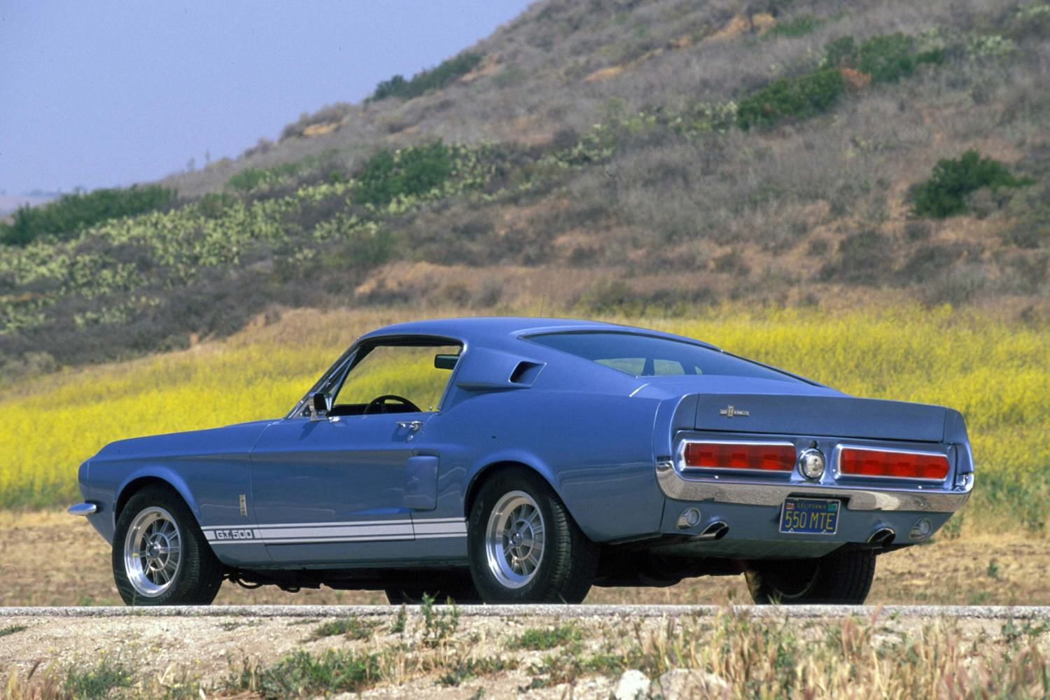 1967 Ford Shelby Mustang GT500 rear