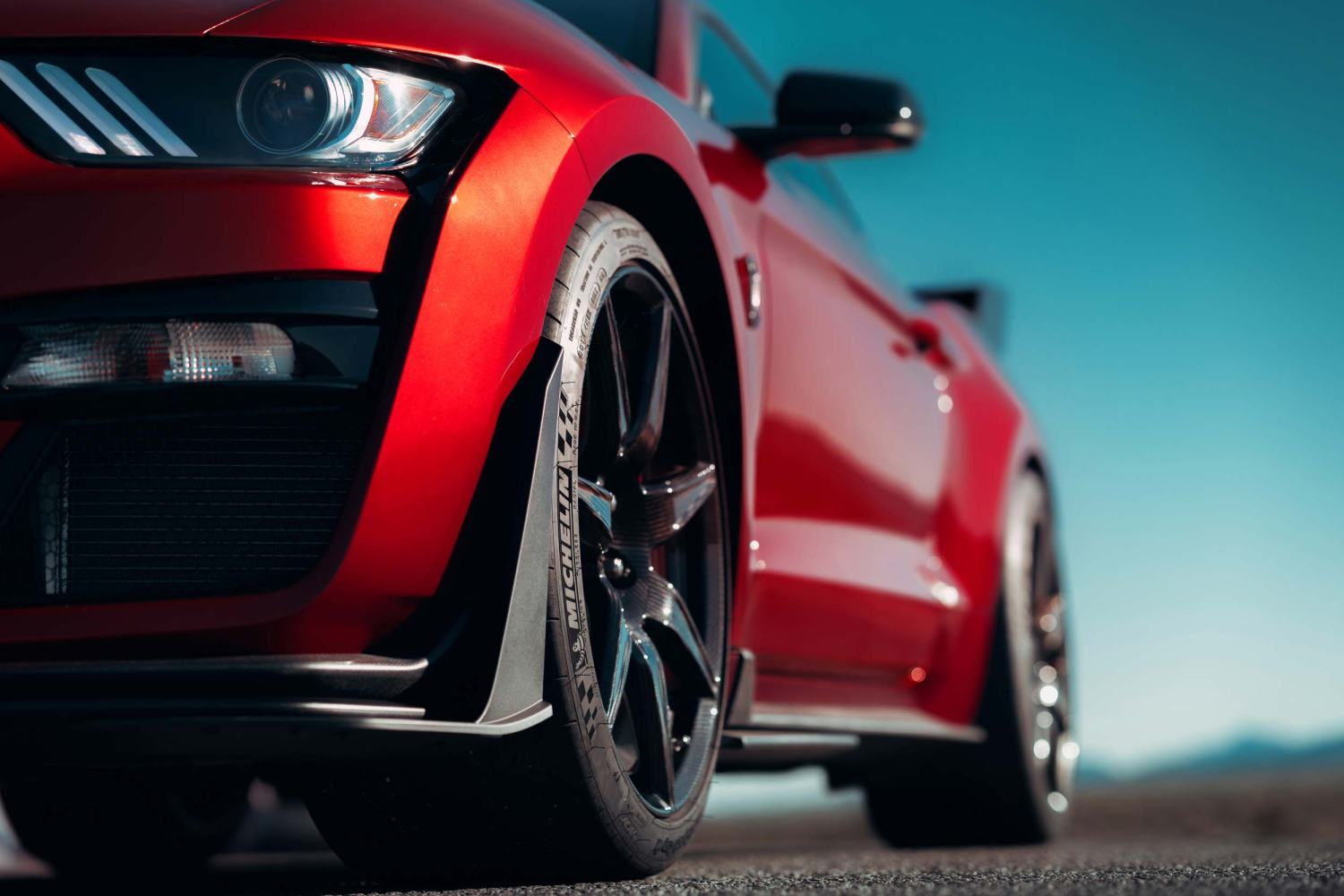 2020 Mustang Shelby GT500 tires