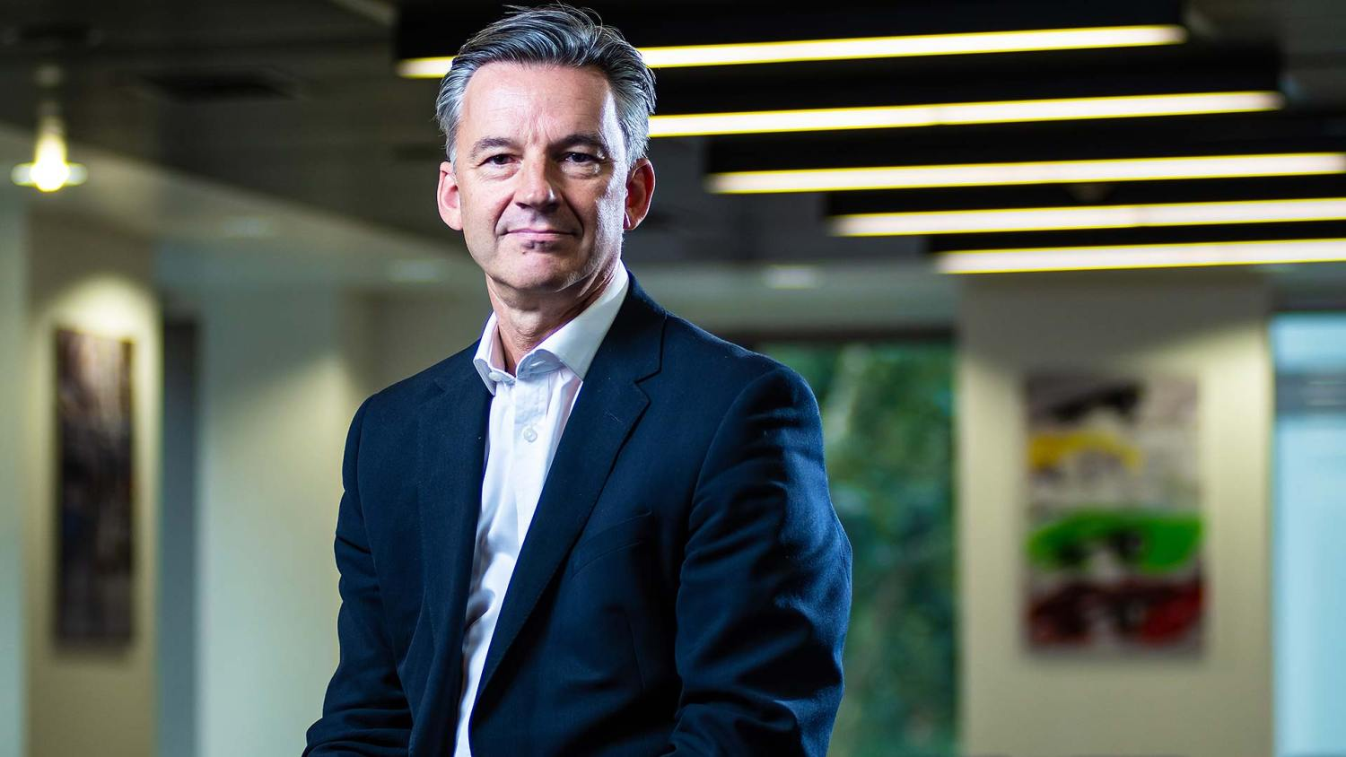SMMT chief executive Mike Hawes