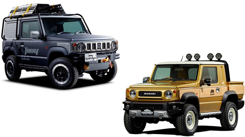 Beliebt Bevorzugt Super-cool Suzuki Jimny pick-up stars at Tokyo Auto Show &YH_93
