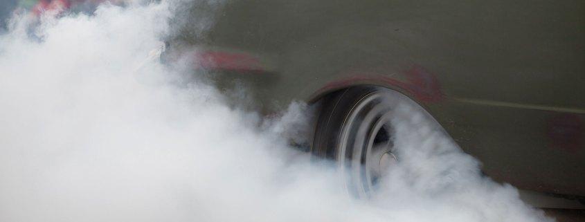 Tyre burnout