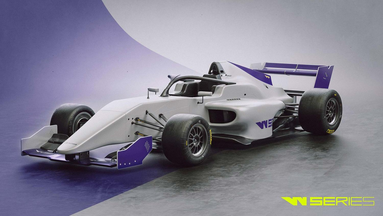 W Series racing car