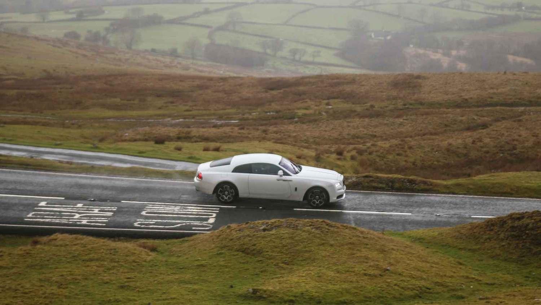 Rolls-Royce Wraith Black Badge in Wales