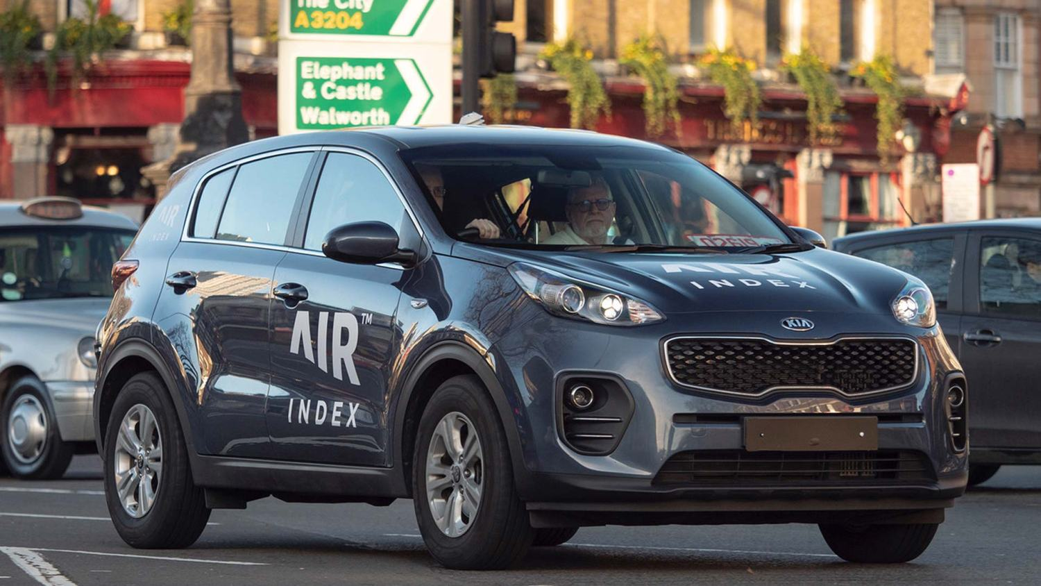 AIR Index: Kia Sportage