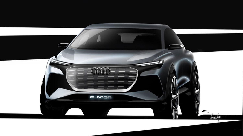 Audi Q4 E-tron SUV concept