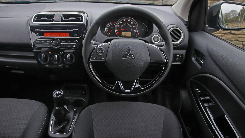 2019 Mitsubishi Mirage interior