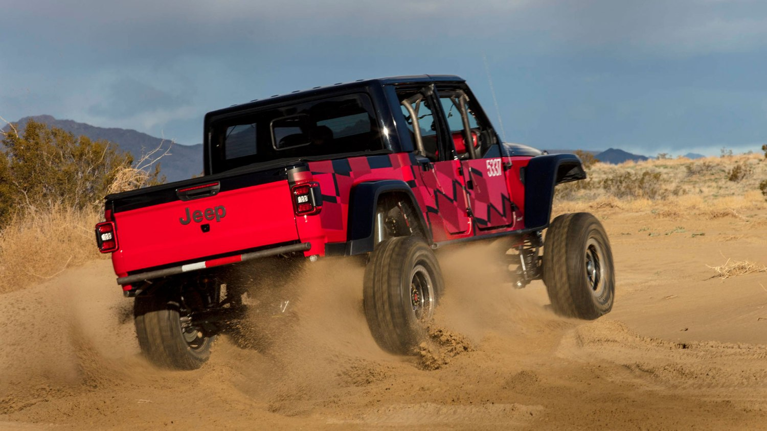 2020 Jeep Gladiator King of the Hammers Challenge