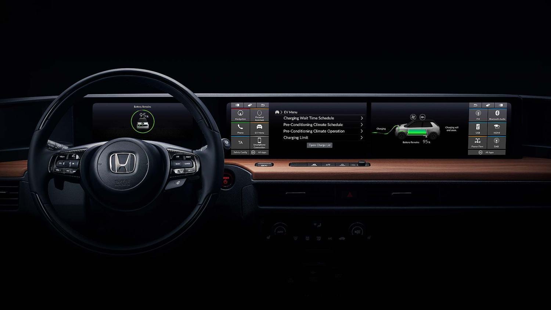 Honda Electric Vehicle Concept interior