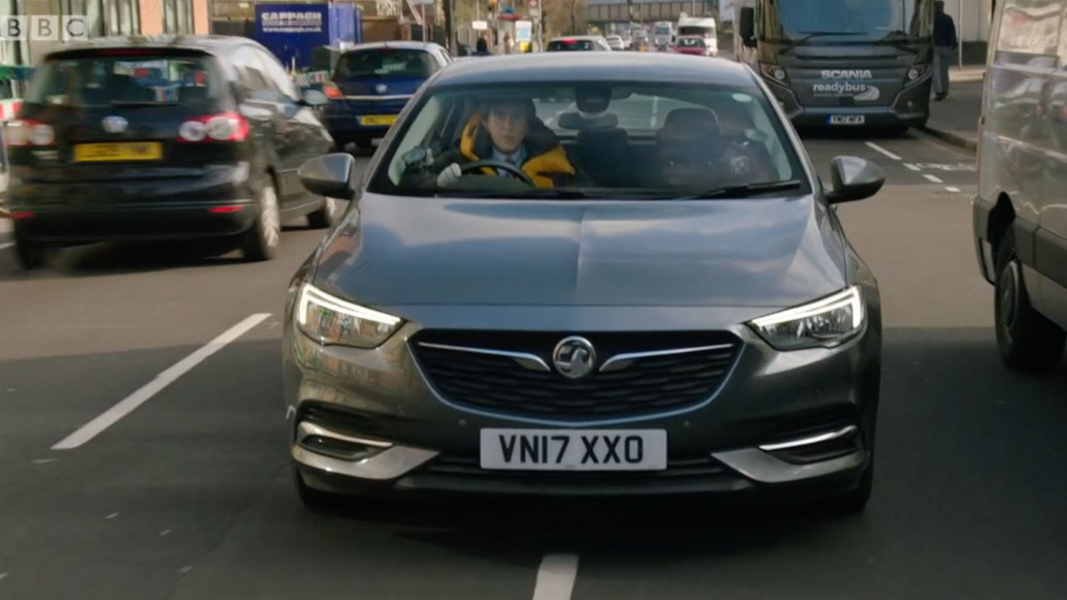 Alan Partridge Vauxhall Insignia Grand Sport