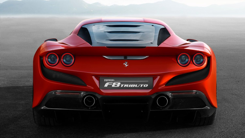 Ferrari F8 Tributo Geneva