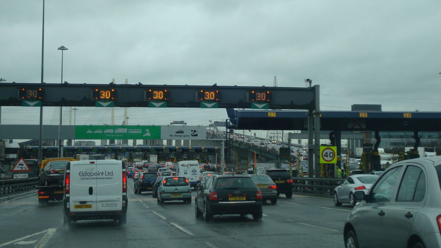 Foreign drivers avoiding Dart Charge