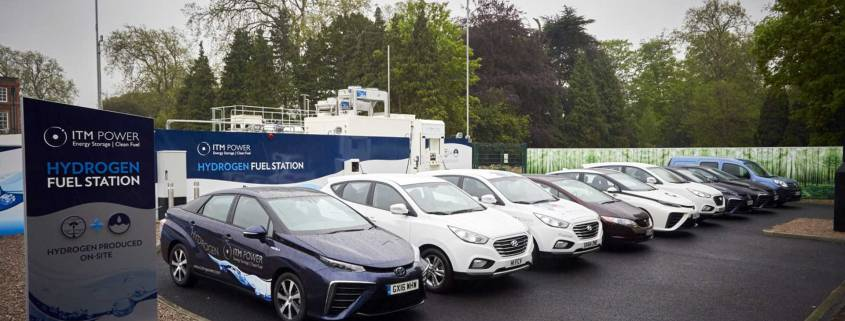 UK government hydrogen competition winners