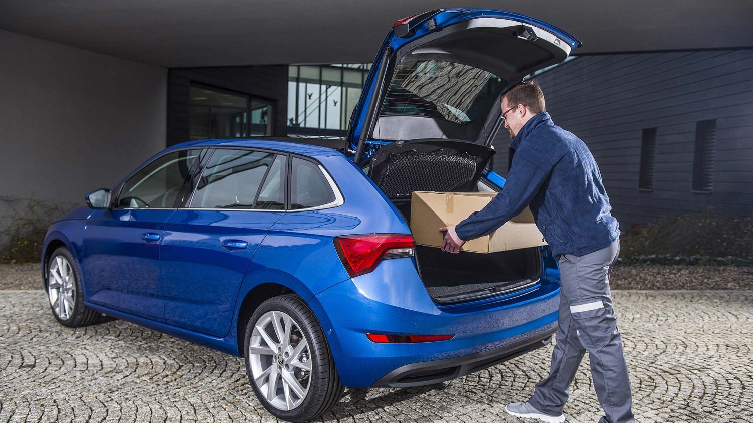 Skoda delivery to your car boot