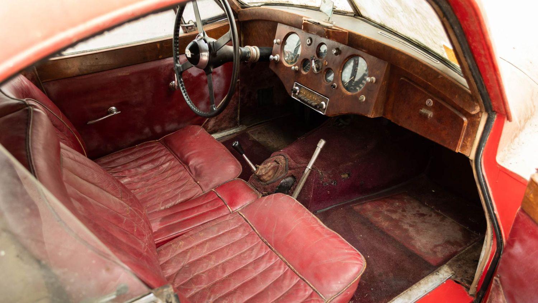 Bring a Trailer 1952 Jaguar XK120 Barn Find