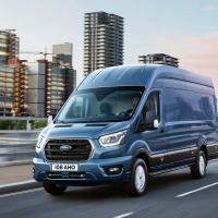 This new Ford Transit can LOOK AROUND CORNERS to help save fuel