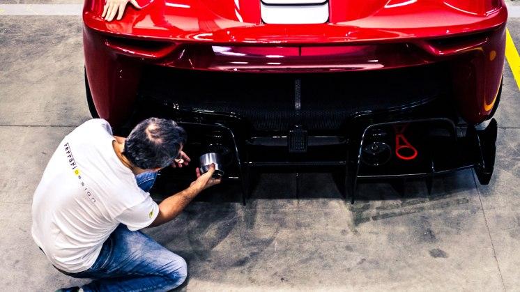 Ferrari P80-C work