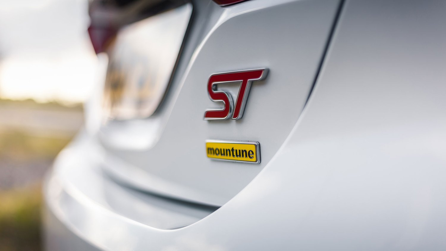Fiesta Mountune badge