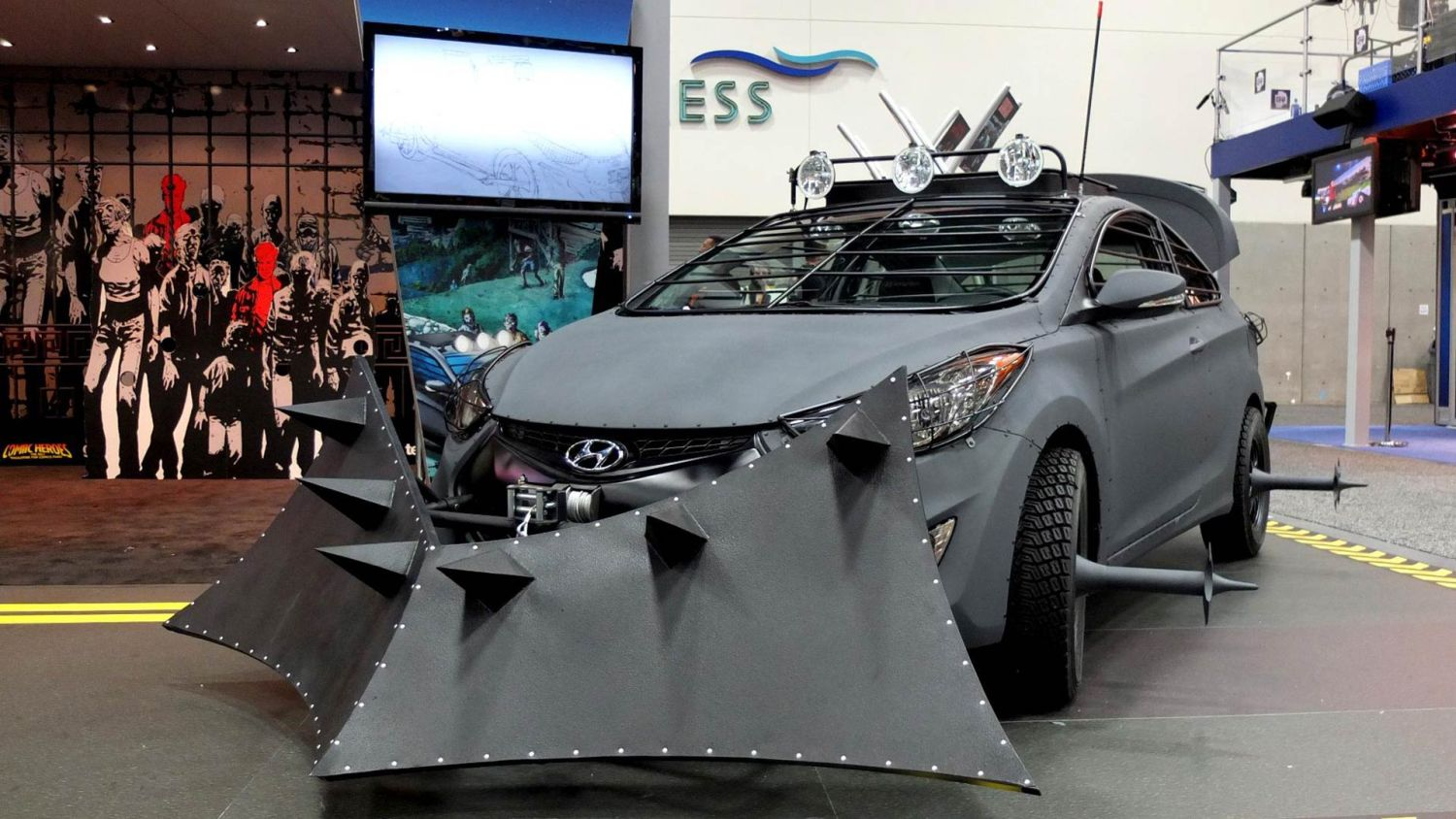 Vehicles to take on the apocalypse