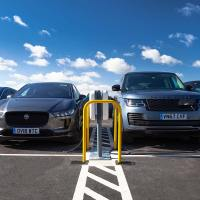 Jaguar Land Rover turns on Britain's largest EV smart charging site