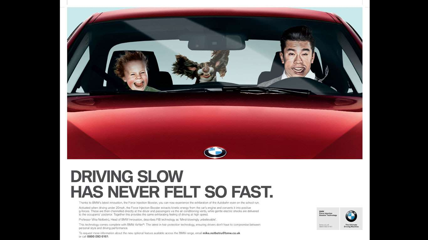 BMW April Fools' Day