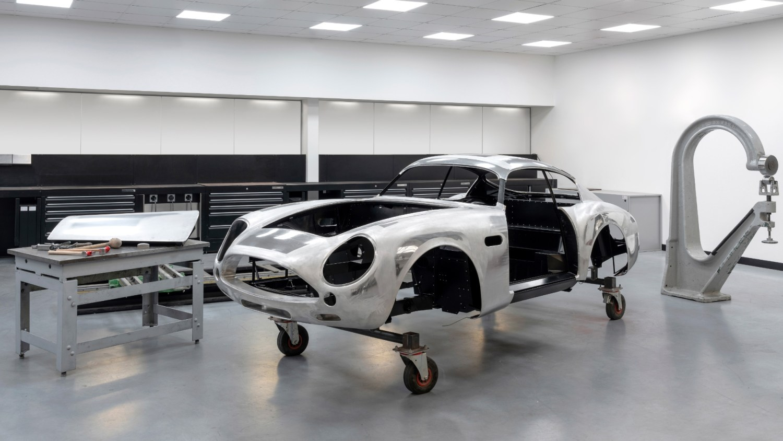 DB4 GT Zagato Production