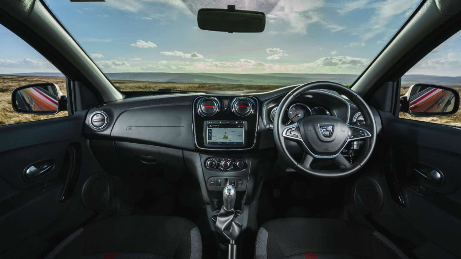 Dacia Techroad interior