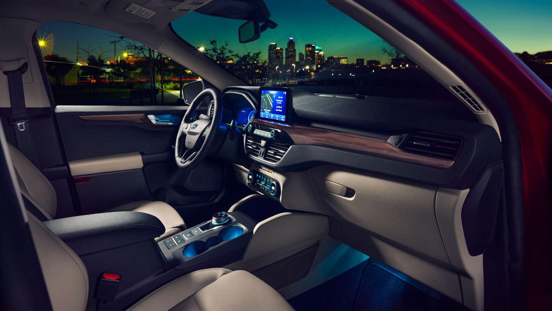 New Ford Escape interior
