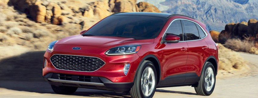 New Ford Escape revealed