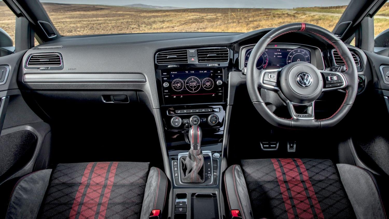 Volkswagen Golf GTI TCR interior