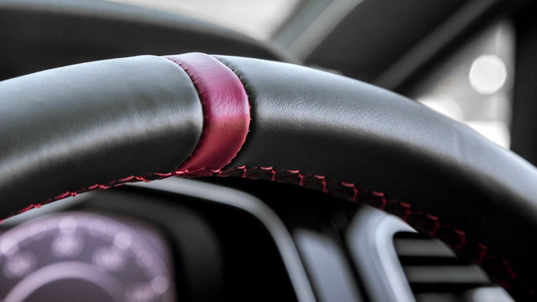 Volkswagen Golf GTI TCR steering wheel