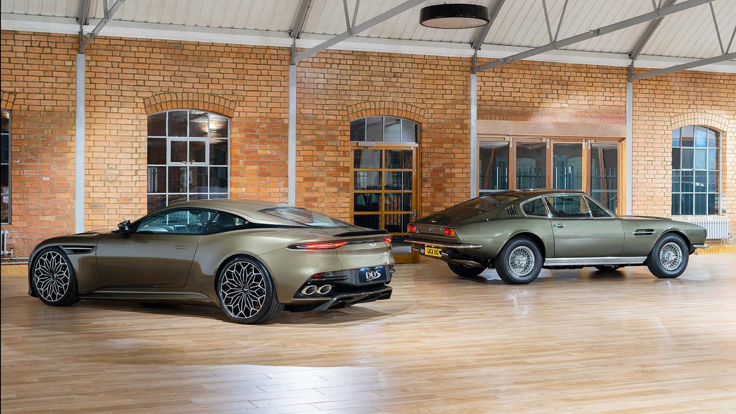 Aston Martin OHMSS DBS Superleggera