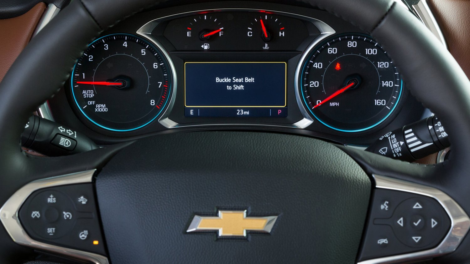 Chevrolet Teen Mode Buckle to Drive