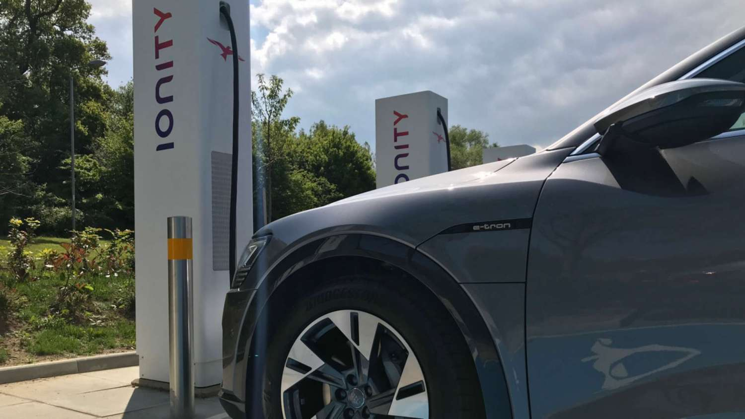 First 350kw charging station in UK