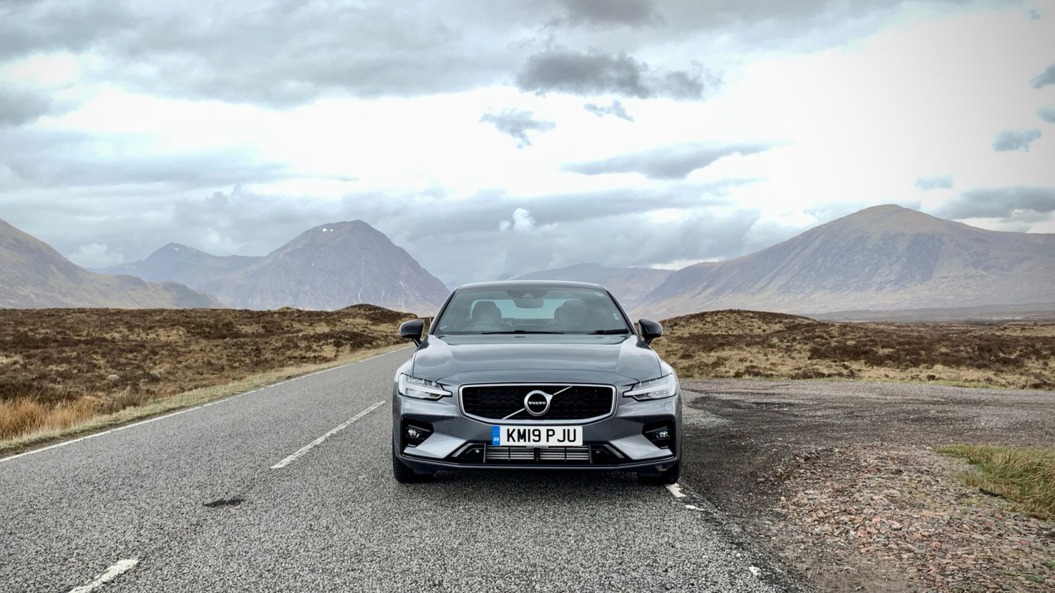 Volvo S60 in Scotland
