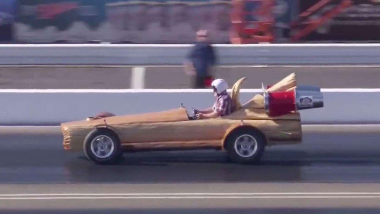 Fastest motorised log