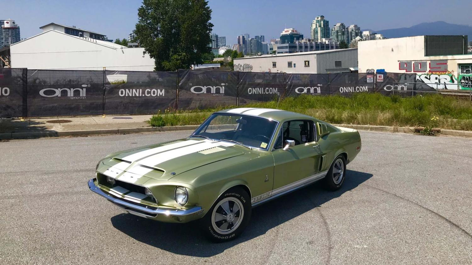 Golden oldie: restored 1968 Shelby Mustang GT350 up for