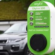 CityEV lamp post charging points