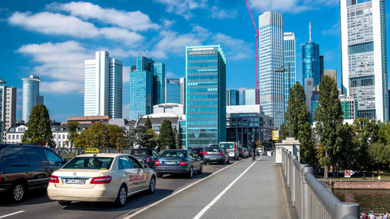 Cars in Frankfurt