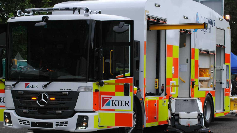 Highways England ECRU super-truck