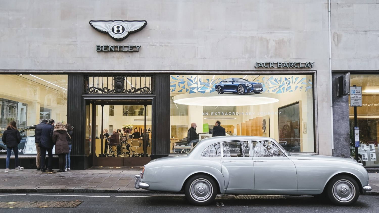 Bond's Bentley heading to Jack Barclay Bentley