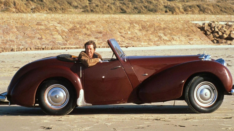 Jim Bergerac Triumph Roadster