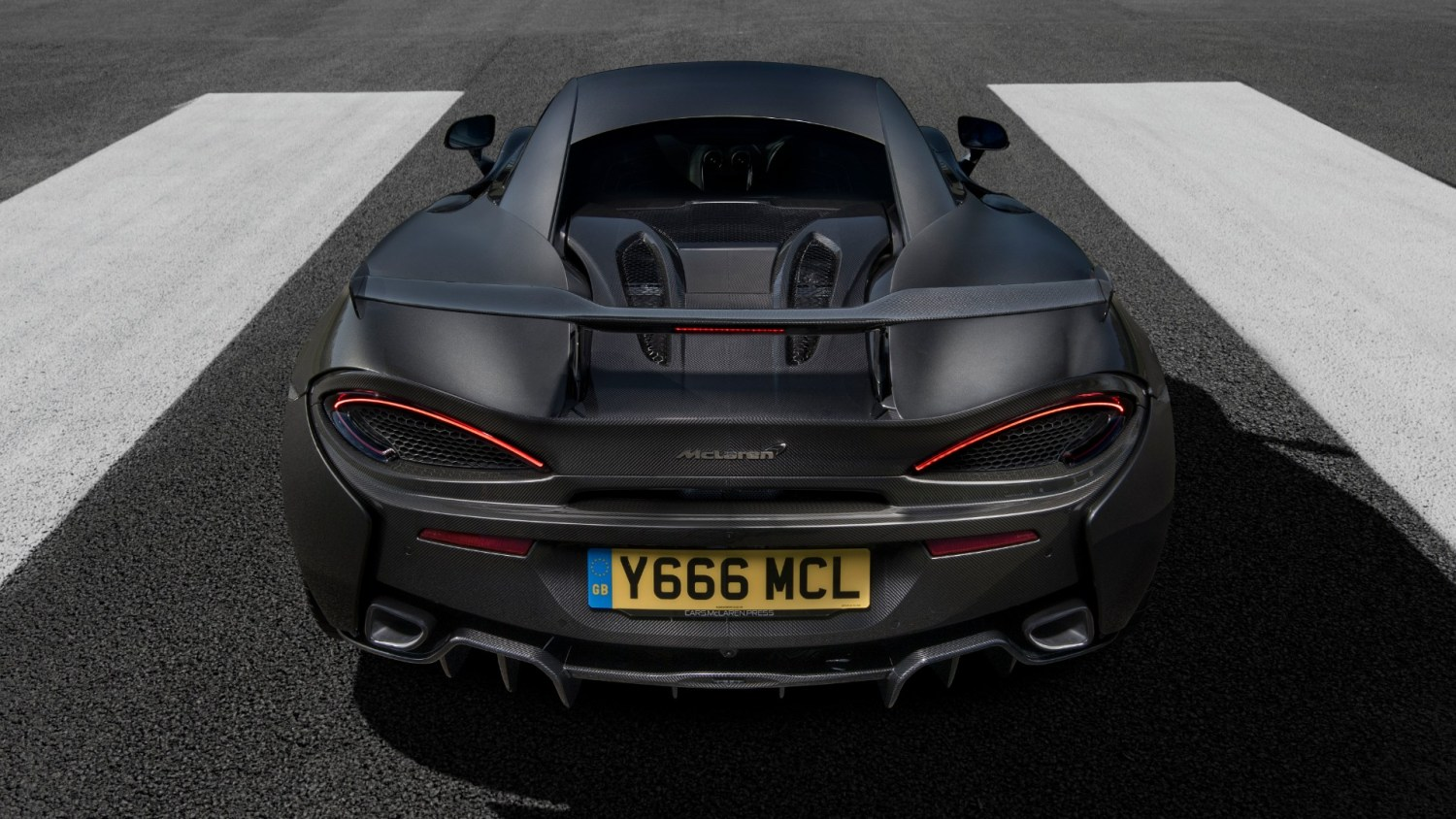 MSO Defined High Downforce Kit for McLaren 570