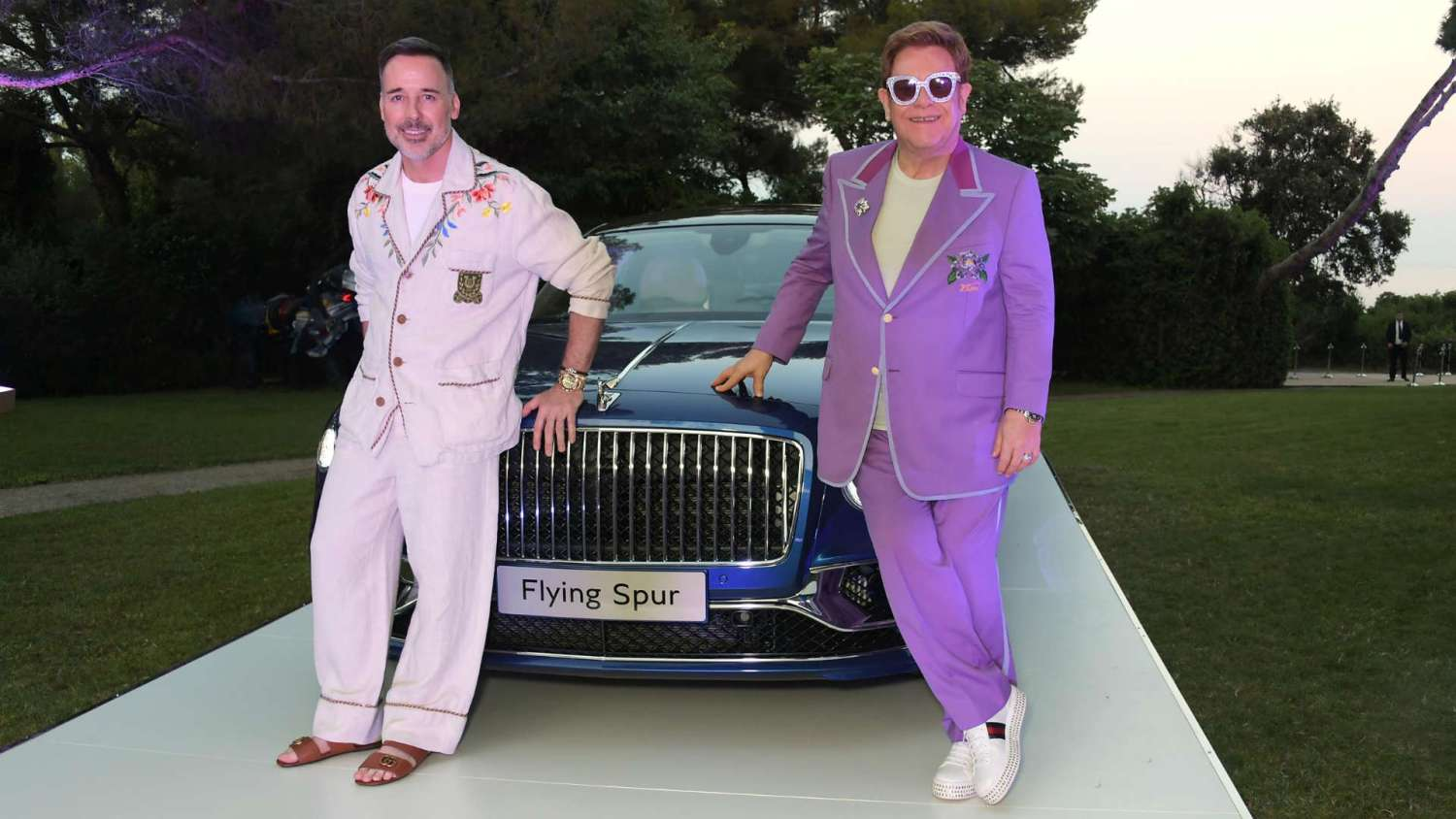 Bentley raises cash for Sir Elton John charity