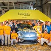 Volkswagen Beetle ends production